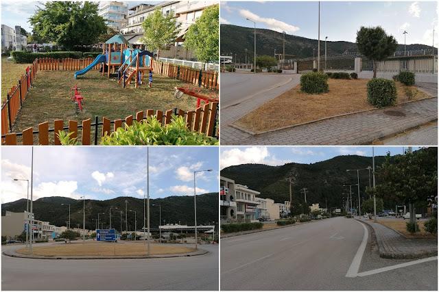 Ήγουμενίτσα: ΕΠΙΤΕΛΟΥΣ ξεκίνησαν να καθαρίζουν τα χόρτα στην παραλιακή της Ηγουμενίτσας
