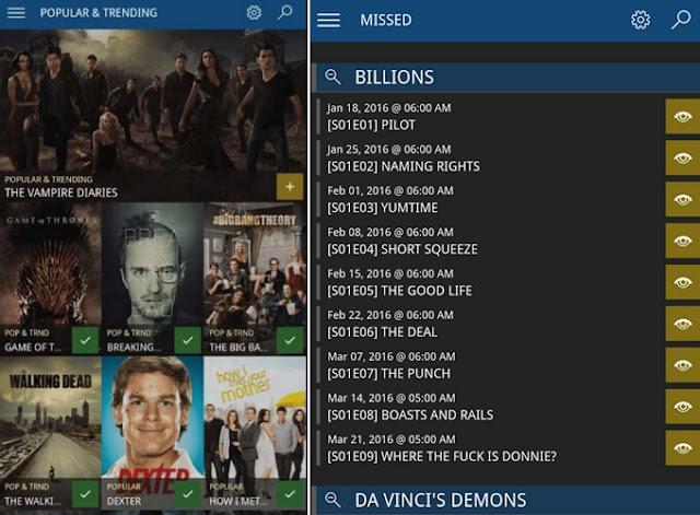 Series Tracker - Δωρεάν λογισμικό