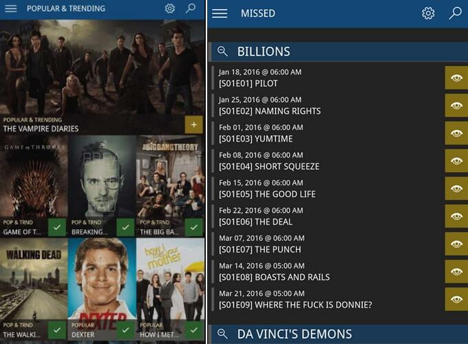 Series Tracker - Δωρεάν εφαρμογή για να μην χάνεις τα επεισόδια σειρών
