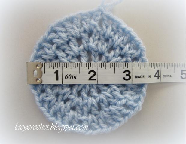 Lacy Crochet V Stitch Newborn Beanie Free Crochet Pattern