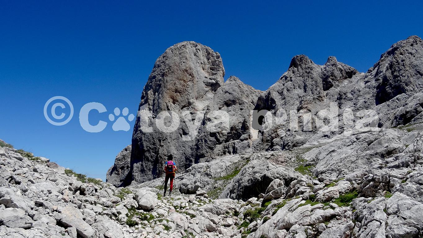 Rutas por el Macizo de Central o de Urrieles en Picos de Europa