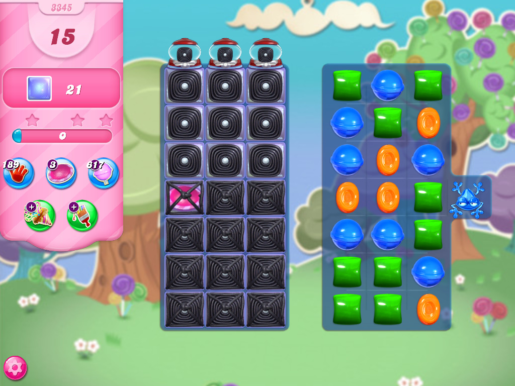 Candy Crush Saga level 3345