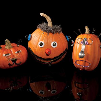 забавни тикви декорация за Halloween
