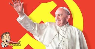 El Papa Comunista Francisco usa su encíclica para decir que el Capitalismo ha fracasado