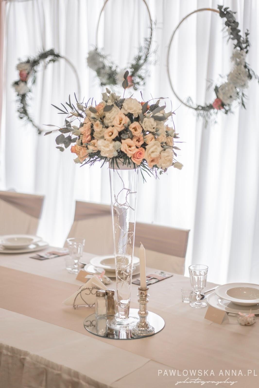 Bajeczny ślub świdnica Hotel Pod Wierzbą świdnica Dekoracje Sali