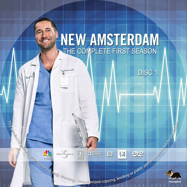 New Amsterdam Season 1 Disc 1-6 DVD Cover