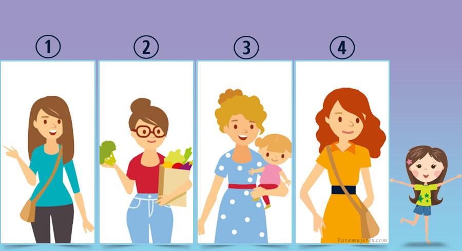 Test: ¿Cuál es la madre de la niña?