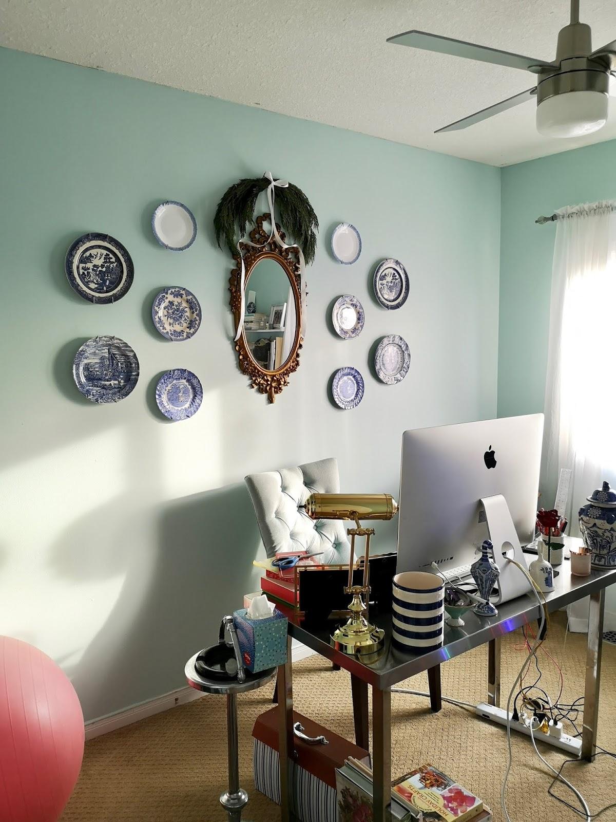 My Christmas Office Decor