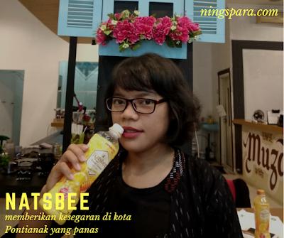 Bersihkan Hari Aktifmu #AsikTanpaToxic dengan NATSBEE Honey Lemon, minuman segar, minuman detoks, detoksifikasi