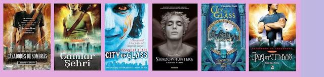 portada de la novela de fantasía juvenil Ciudad de cristal, de Cassandra Clare
