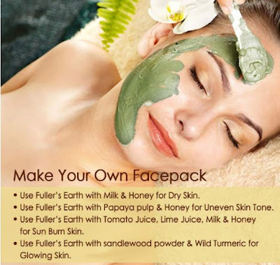 Fuller's earth face mask for oily and dry skin: monsoon skin care