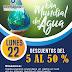 Festejando el Día Internacional del Agua... Descuentos de hasta un 50% este 22 de Marzo