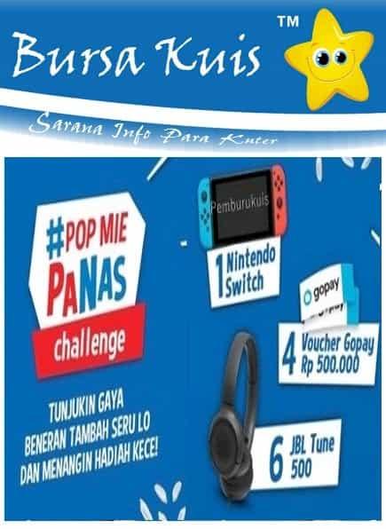 Kuis Online Terbaru dari Pop Mie Berhadiah Nintendo Switch