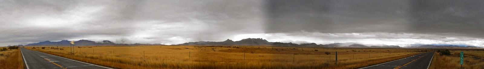 rainy road trip in cochise county arizona