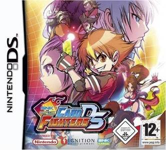 Rom SNK vs Capcom Card Fighters DS NDS