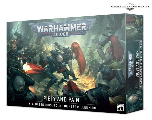 Piety and Pain 40k