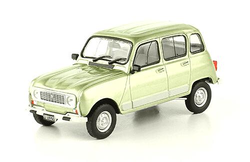 Renault 4 GTL 1985 1:43, autos inolvidables argentinos 80 90