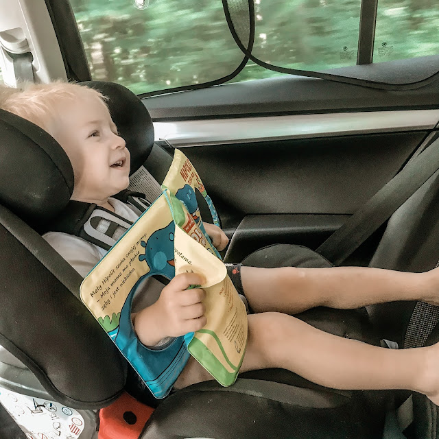 dziecko w drodze