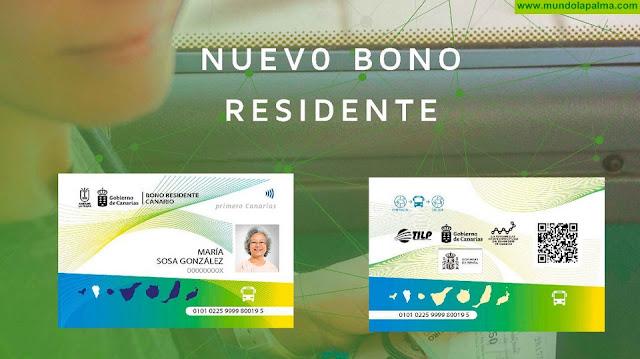 Más de 5.000 personas ya disponen del bono de residente canario para el uso del transporte público en guagua en La Palma