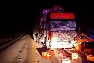 Caminhoneiro morre em acidente na BA-026 em Contendas do Sincorá