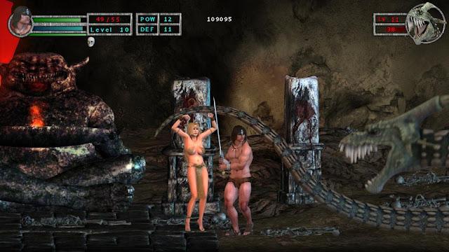 Violencia extrema y mucha sangre en Age of Barbarian EX