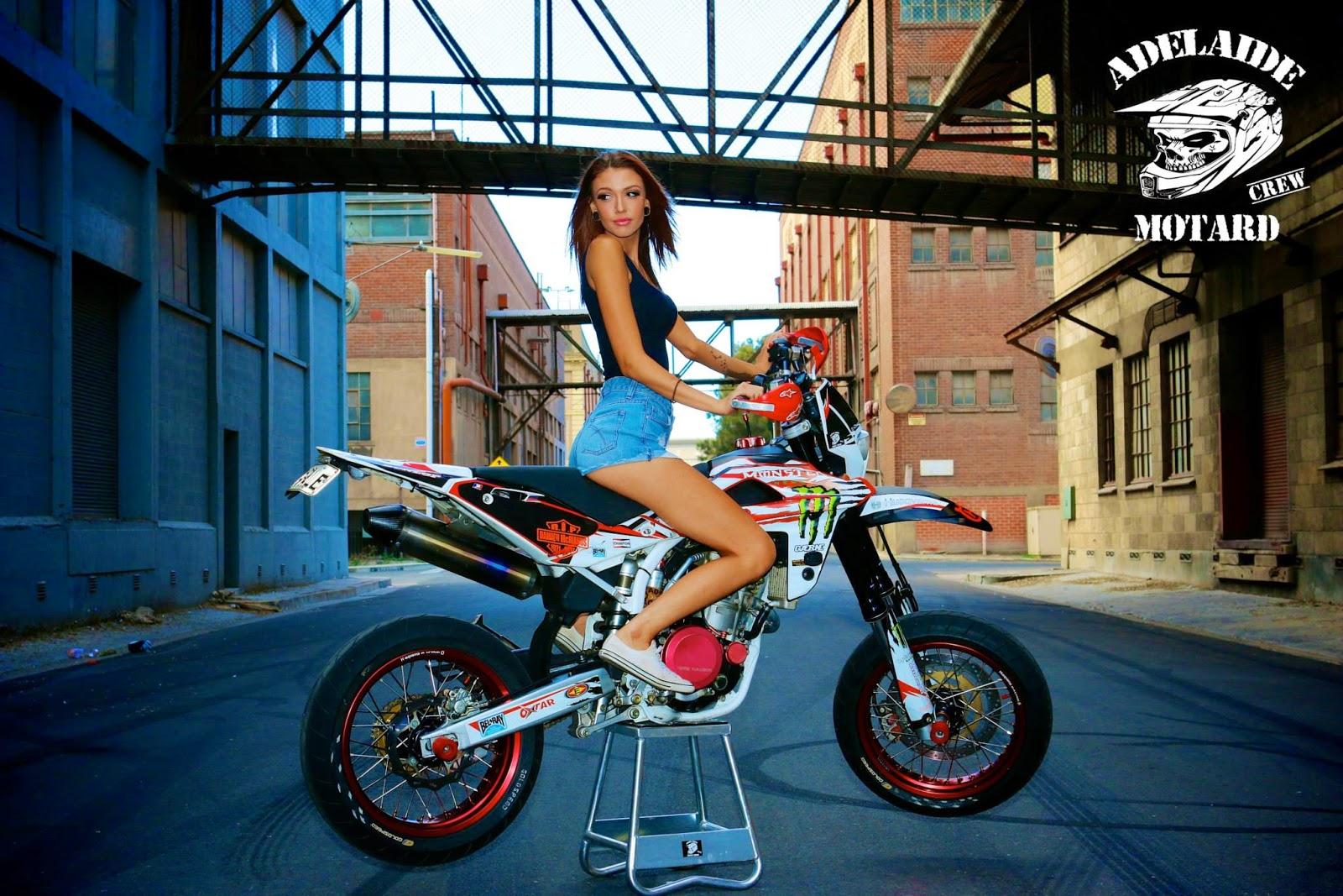 Bike And Girl Wallpaper Hd Mercenary Garage Adelaide Motard Crew