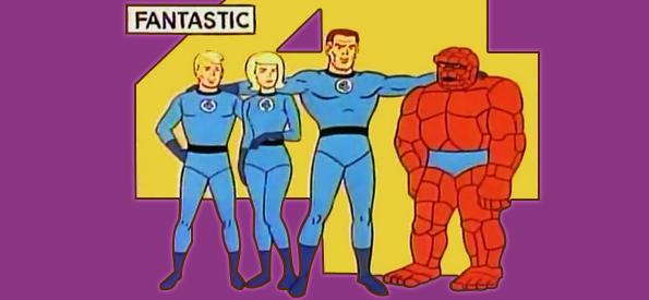 TiendAnimeSpace: LOS 4 FANTASTICOS (1967): La Serie Completa
