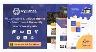 Download IvySchool WordPress Theme Free