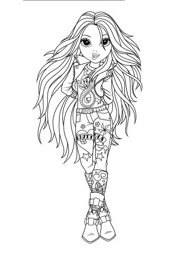 Moxie Girlz Coloring Pages - Coloring Pages Kids 2019 | 833x574