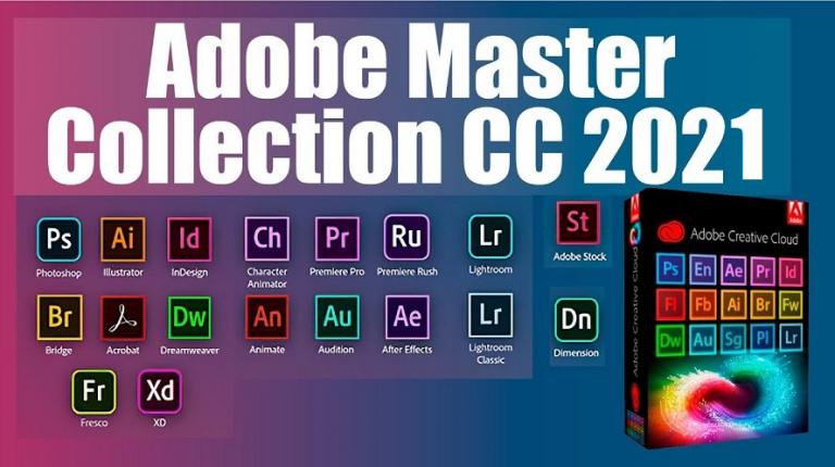 Adobe Master Collection 2021 v8 Download Grátis