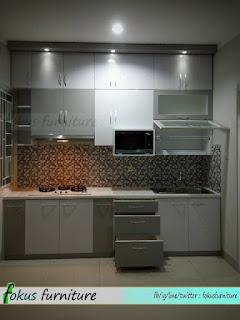 ide lemari dapur tahun ini