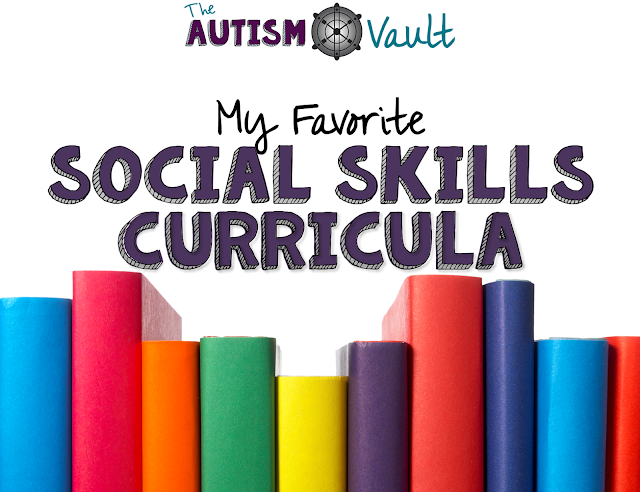 Social Skills curriculum that fits in to a special education teachers' budget is hard to come by. I'm sharing some of my favorite books to teach social skills to students with autism.