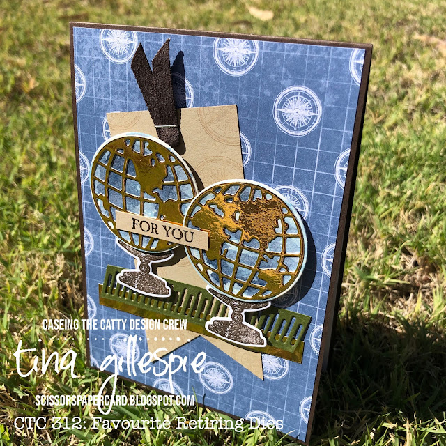 scissorspapercard, Stampin' Up!, CASEing The Catty, Beautiful World, A Good Man, World Map Dies, World Of Good SDSP
