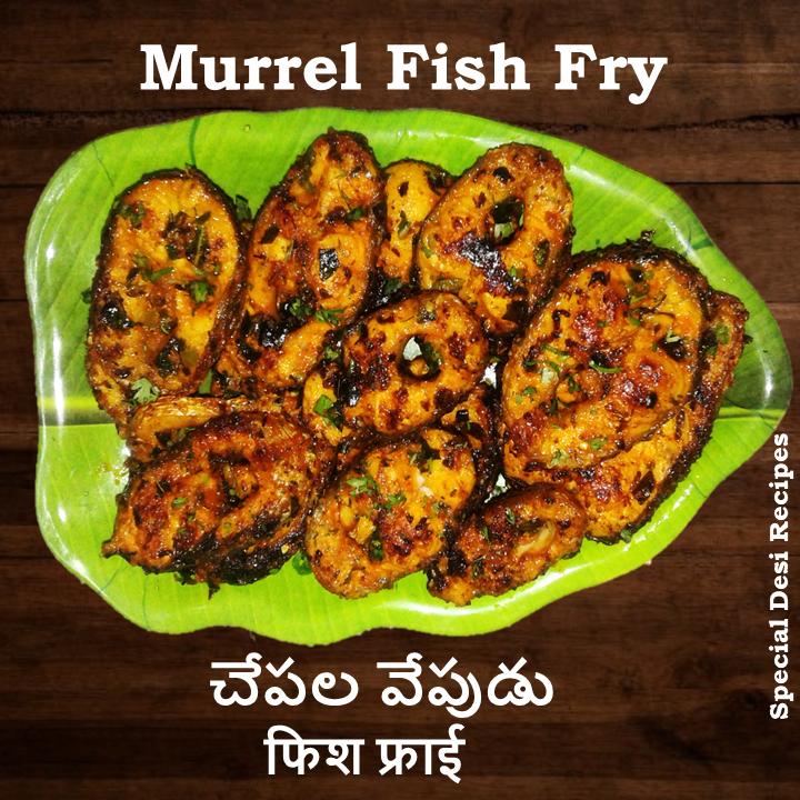 murrel fish fry special desi recipes