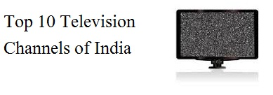 Top Ten satellite television channels in India