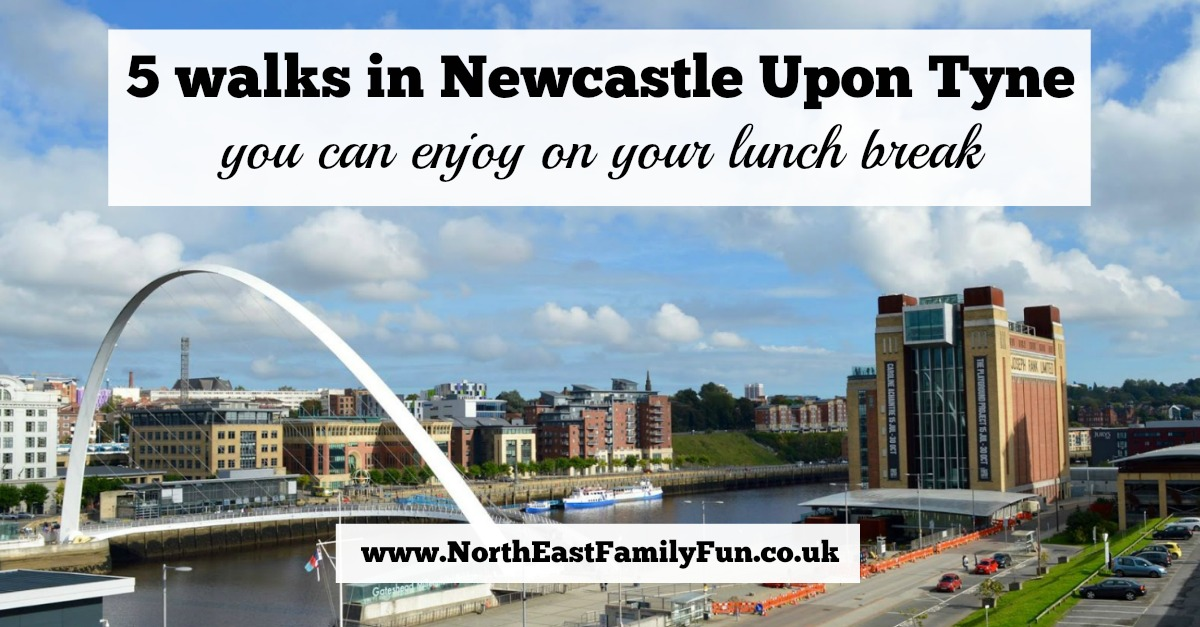 5 walks in Newcastle Upon Tyne you can enjoy on your lunch break