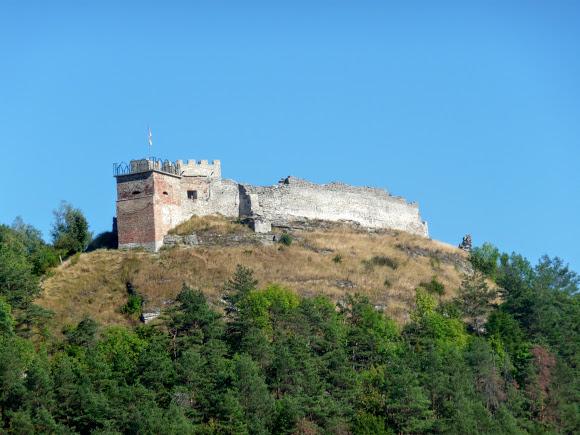 Кременец. Гора Бона (Замковая)