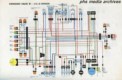 phscollectorcarworld tech series kawasaki kz650 wiring 78 kz650 wiring-diagram kz650 wiring diagram #15