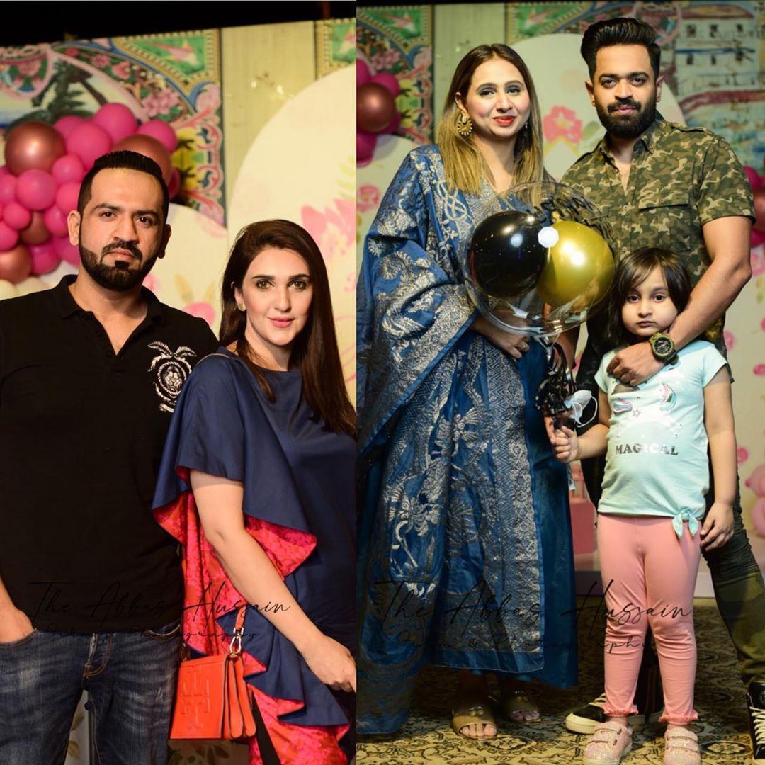 Faysal Qureshi Celebrates his Wife Sana Faysal Birthday