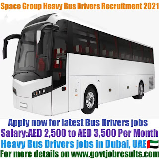 Space Group Heavy Bus Driver Recruitment 2021-22