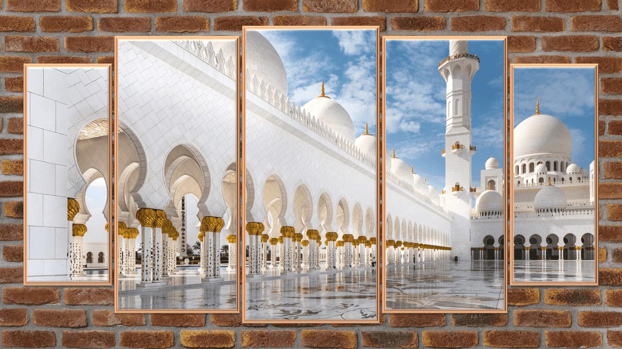 كيفية تصميم صور مقسمة  لتزيين الغرف