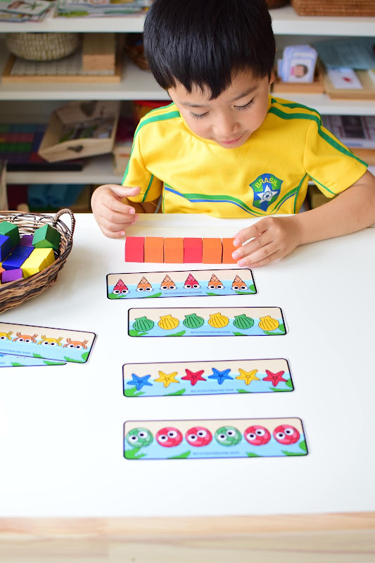 SUMMER THEMED LEARNING: PATTERNING