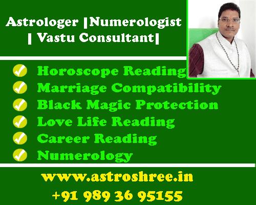Contact of Astrologer +91 9893695155, email: consultomprakash@gmail.com