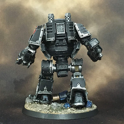 Horus Heresy Dark Angels Contemptor Dreadnought - Back Side