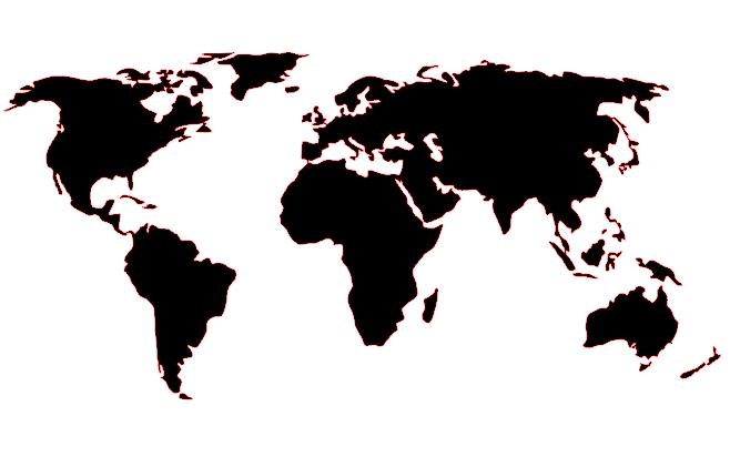 Diy World Map Wall Mural Classy Clutter