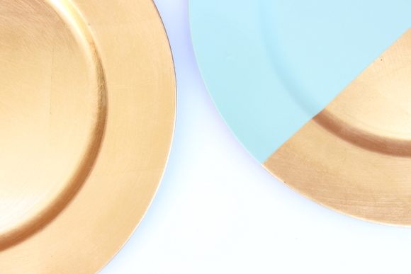 For less than $3 a plate, these decorative plates add so much style to a fun dinner party