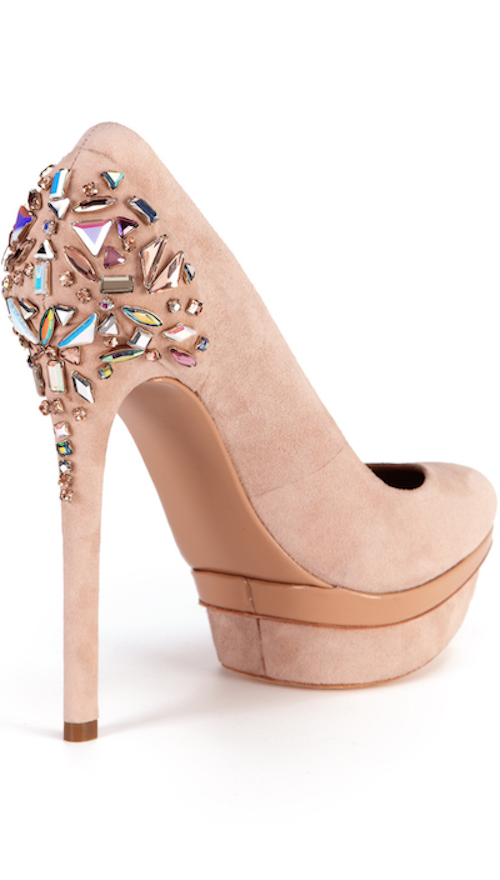 B Brian Atwood Ferranta Jeweled Pump