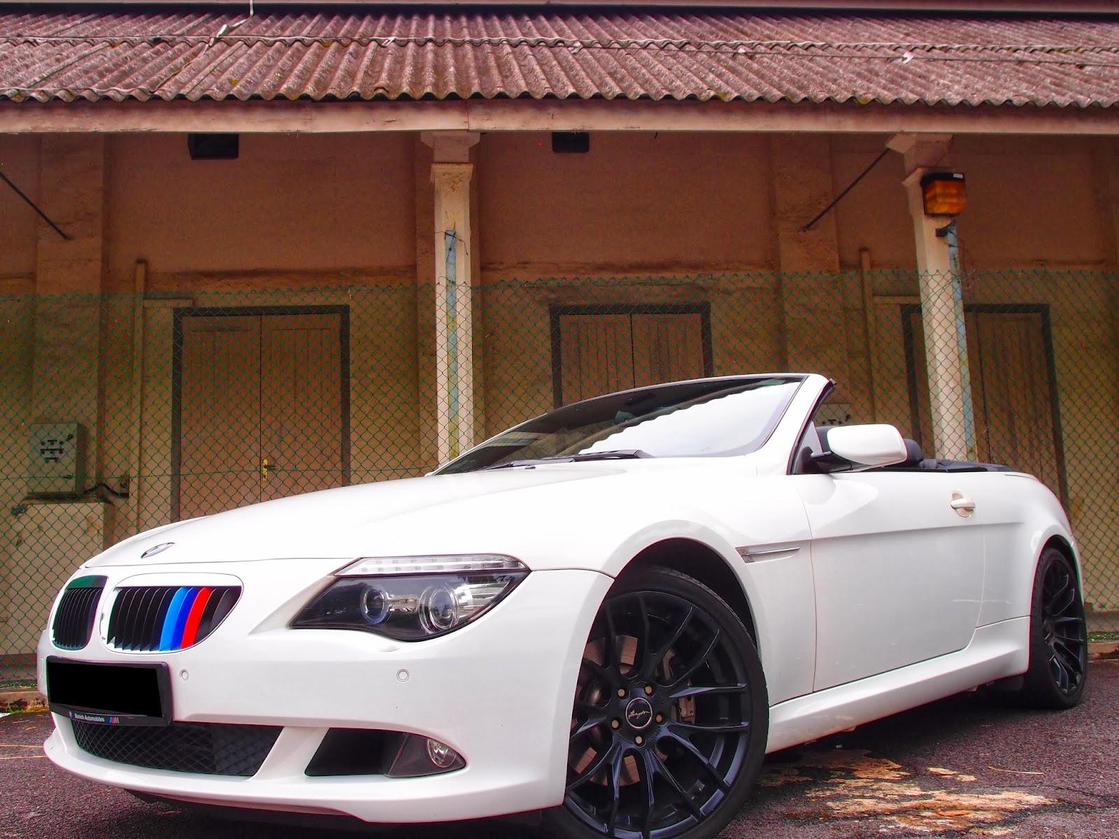 Bmw 630i E64 Cabriolet Whiteweddingcars