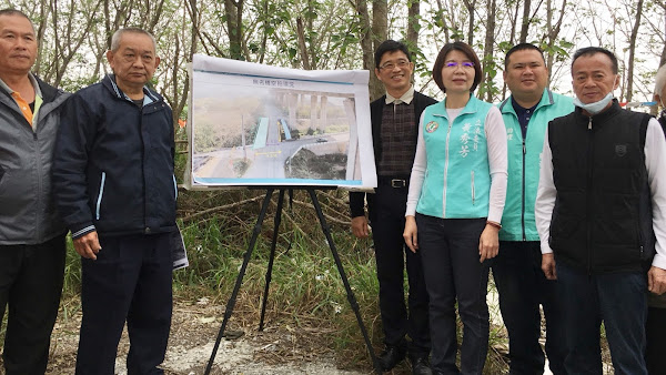 彰化市無名鐵橋改建 解決寶廍路與國聖路交通瓶頸