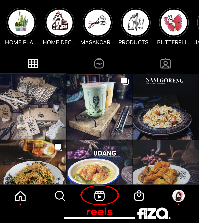 Instagram Reels Ala Aplikasi Tik Tok